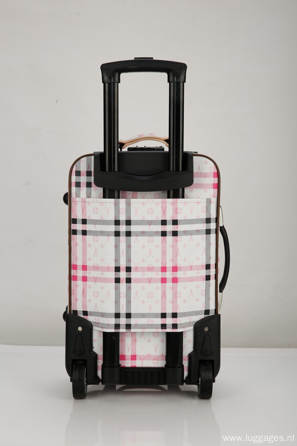 Printed Continental Expandable Suitcase