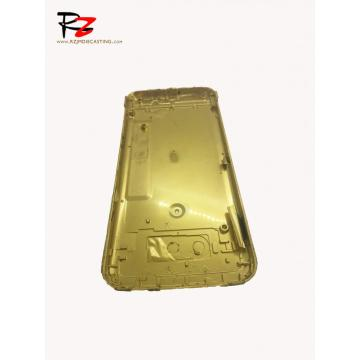High Precision Die Casting Yellow Back Cover Original