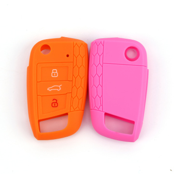 Hot Selling 3 Knappar Car Key Protect Case