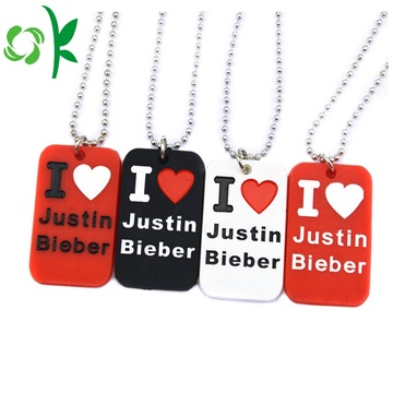 Customized Soft Silicone Pet ID Tag Dog Tags