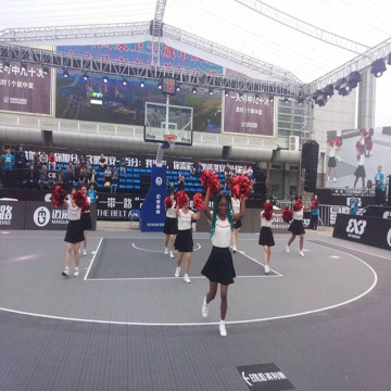 outdoor basketball Portable Court Tiles