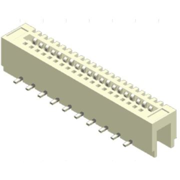 1.25mm  NON ZIFVertical SMTDual contact FPC Connector