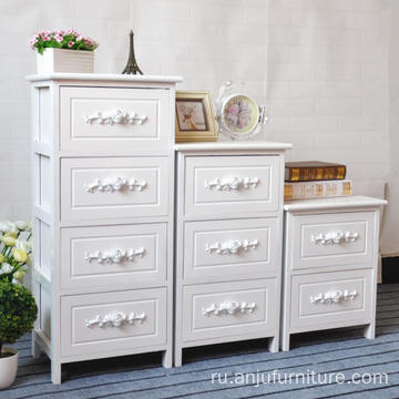 White Modern TV wooden cabinet