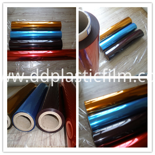 Transparent Color PET release film