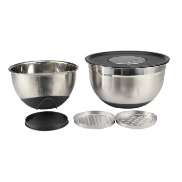 Kitchen Accessories Mixing Bowl with Colander