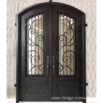 Wholesale China Iron Front Security Double Door