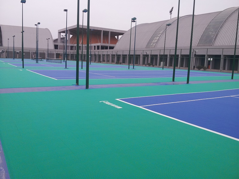 Outdoor Tennis Court Tiles ITF