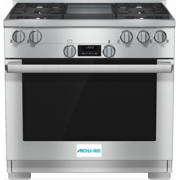 36 Inch Range All Gas Oven