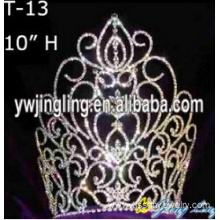 Europe style for for Sunflower Crown 10 Inch Wholesale Pageant Crowns supply to China Taiwan Factory