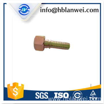High Quality for Brass Hose Fitting Hydraulic High Pressure Hose fitting for Excavator export to Italy Factories