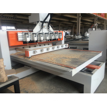 multi heads cylinder engraving cnc router