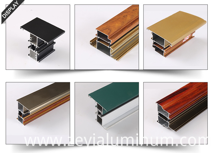 Thermal Break Aluminum Profiles Set
