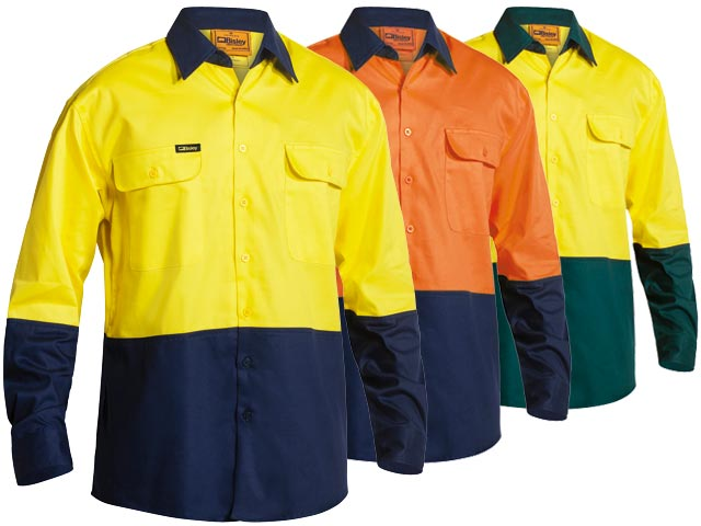 Hi Vis two tone shirt