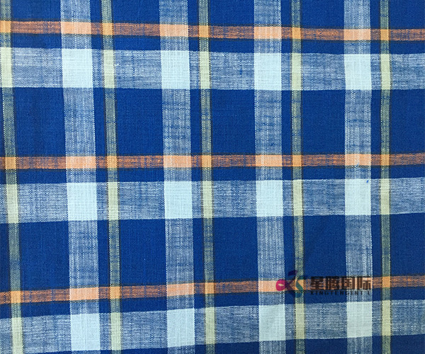 Bamboo Fiber Plaid Fabric