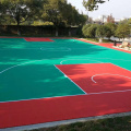 cheap outdoor basketball systems court pp flooring tile