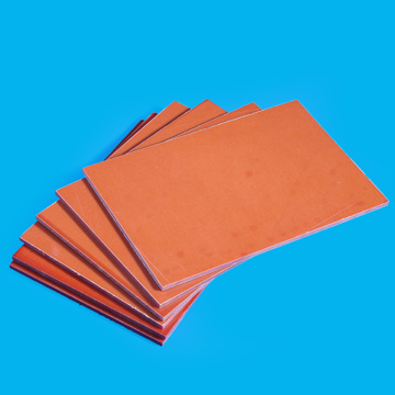 Orange Insulating Paper Laminated Phenolic Plate