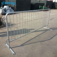 China OEM for Steel Barriers 38mmFactory Roadside Galvanized Pedestrian Temporary Barrier supply to United States Minor Outlying Islands Manufacturers