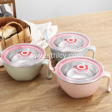 Canteen Portable Instant Noodle Bowl With Spoon