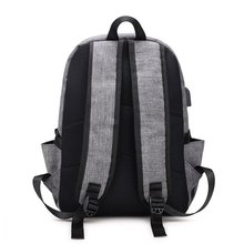 New waterproof  backpack USB charging bag