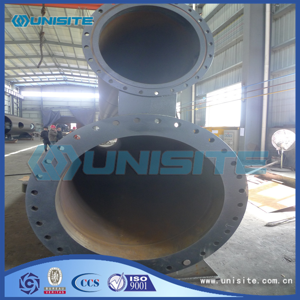 Steel dredging pipe suction