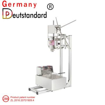 3L capacity churros machine made of stainless steel