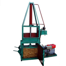 Industrial Balers Compacting Waste Paper