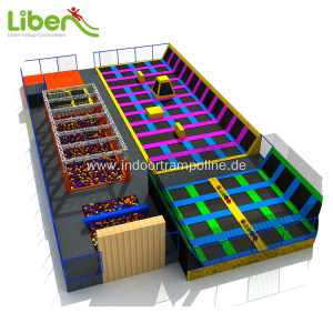 20 Years Factory for Indoor Trampoline Park CE approved UK indoor trampoline park export to Vietnam Manufacturer