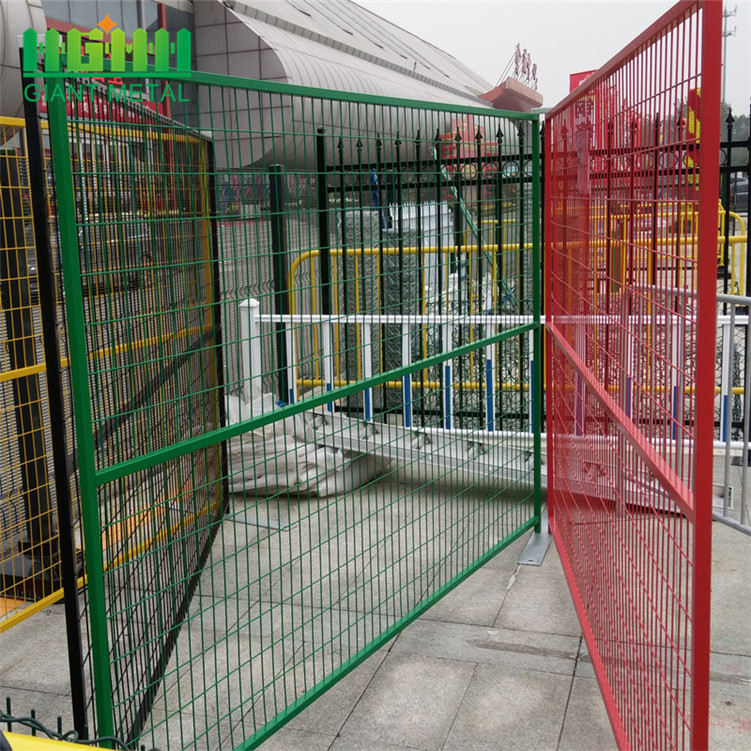 Canadian Galvanized Temporary Fence Security