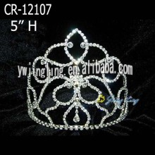 5 Inch Hair Jewelry Pageant Tiara Crowns