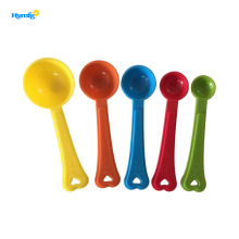 Food grade plastic PP measuring spoon set 5pcs