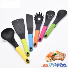 High Quality Industrial Factory for Nylon Untensils Set,Nylon Utensils,Cooking Tools Set Manufacturers and Suppliers in China Walmart hot 6pcs nylon kitchen cooking utensils set export to Poland Suppliers