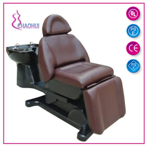 Best Price for Multifunction Shampoo Chair Electric shampoo chair for salon supply to Portugal Factories