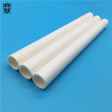 99.5% Al2O3 alumina insulated ceramic tube pipe bushing