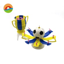Rotating Football Music Birthday Candles