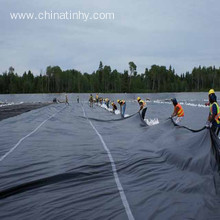 Reservoirs liner HDPE geomembrane