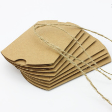 Christmas Kraft Paper Candy Boxes With Rope