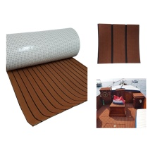 Melors Non-Slip Faux Teak Composite Floor Decking