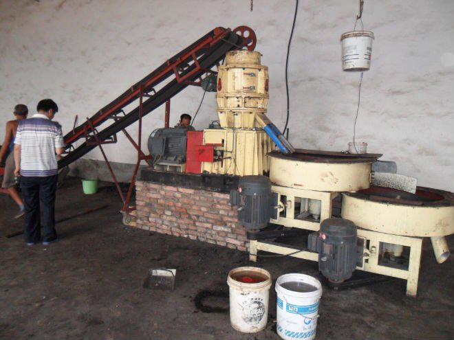 cow manure fertilizer pellet machine price