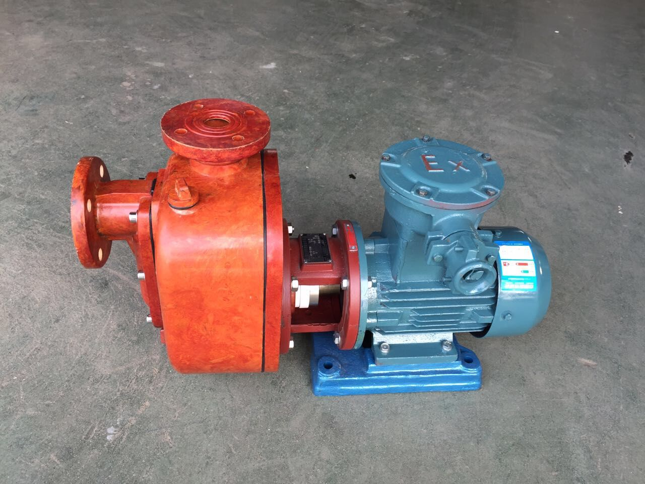 ZS type FRP self-priming pump 1