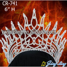 Flame Shape Beauty Pageant Crown