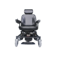 Convenient 4-wheel suspension wheelchair