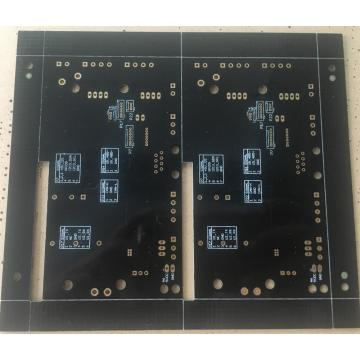 FR4 0.8mm black solder ENIG PCB