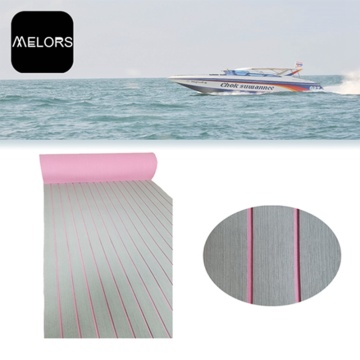 Melors Adhesive Synthetic Floor Mats Teak Boat Mat