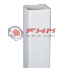 White PVC Square Post for Fence