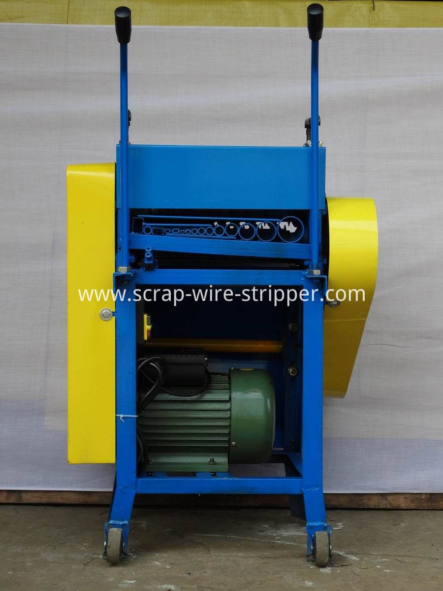wire stripping and cutting machine