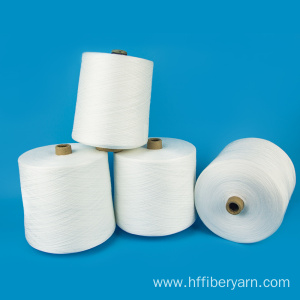 High Quality for Polyester Core Spun Yarn AAA Grade paper cone raw white 100% polyester yarn 60/2 export to Sri Lanka Wholesale