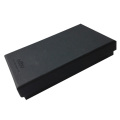 Black Kraft Paper Gift Two Pieces Box