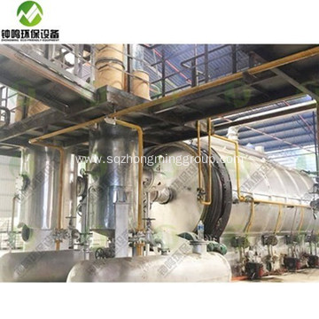 Fractional of Crude Oil Distillation Tower