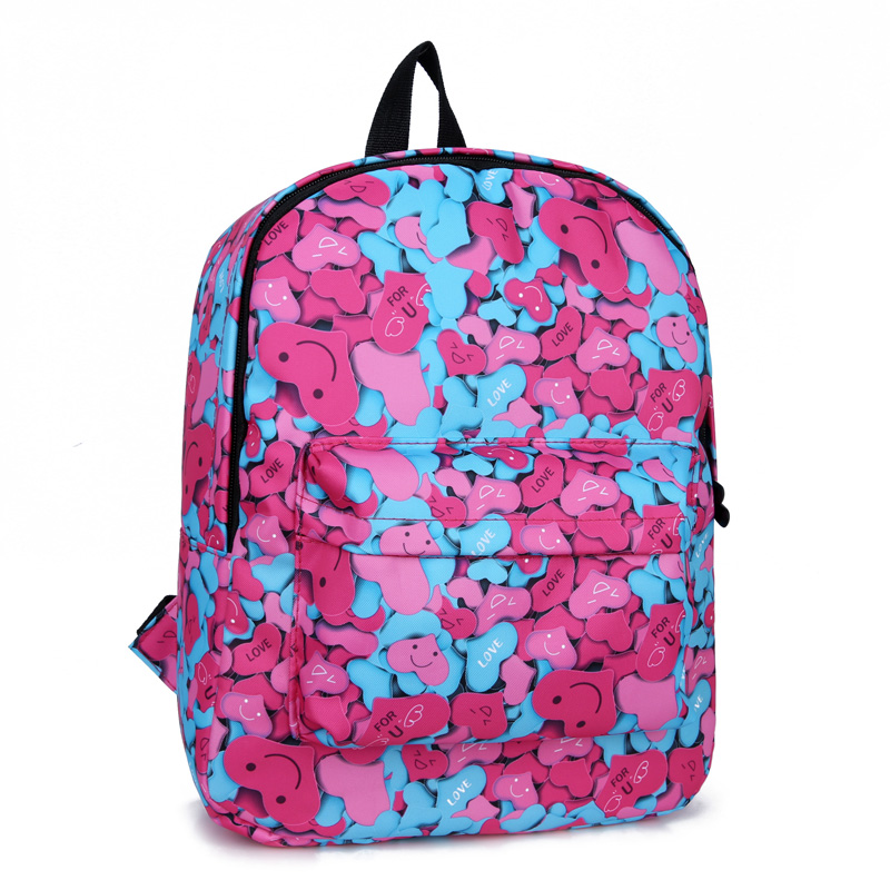 Fashion multi function Canvas Backpack