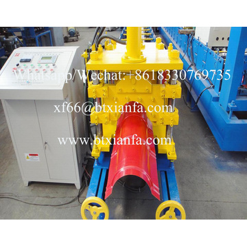 Roof Metal Ridge Cap Pressing Roll Forming Machine